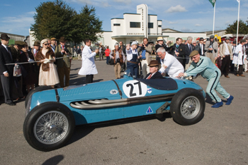 Pit stop at the 2010 Goodwood Revival