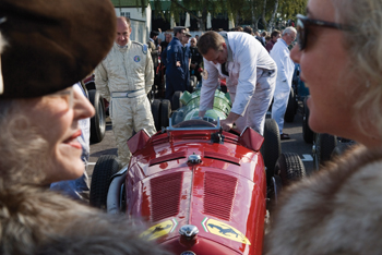 Pit stops at the 2010 Goodwood Revival