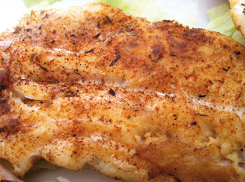 Recipe: Blackened fish, Creole-style