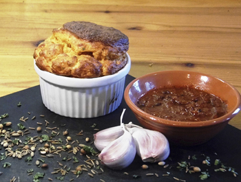Recipe: Spiced crab soufflé