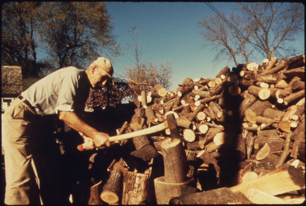 Wood Chopping To Build Muscle