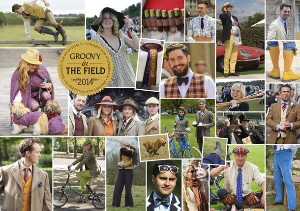 Groovy in The Field in association with Cordings of Piccadilly
