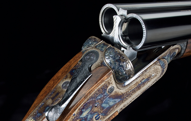 The most expensive gun in the world Purdey side by side. The Purdey side-by-side. The most iconic shotgun of all?