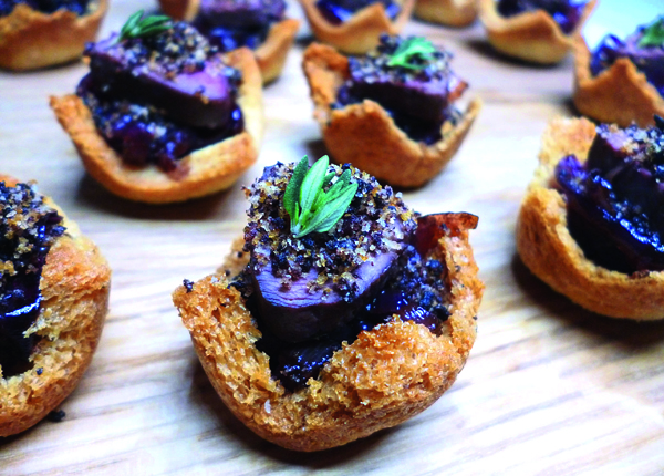 The three best christmas canap recipes the field best christmas canape recipe pigeon and black pudding forumfinder Choice Image