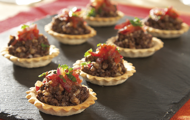 Burn's Night Haggis. Cook with haggis all year round, not just on Burn's Night. These tartlets make a delightful starter.