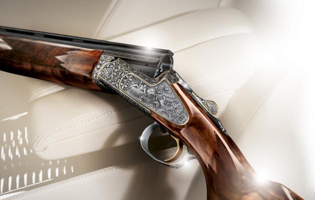 Blaser shotgun. F3 Custom Grade V