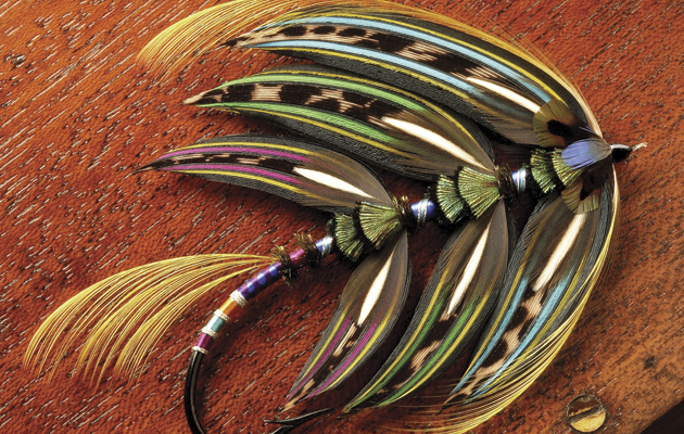 Classic salmon fly: the art and the history