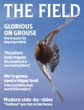 August 2015 cover of The Field magazine