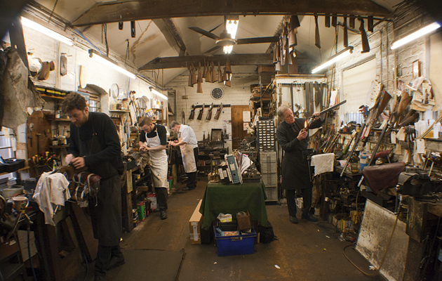 One of the best general gunsmiths, John Wiseman has been in the trade since 1966.