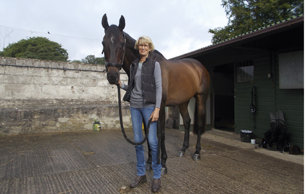 Owning an event horse. Miner's Frolic with co-owner Sarah Pelham