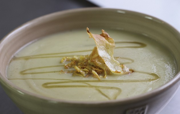 Parsnip, thyme and honey soup
