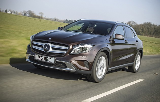 mercedes gla 220 cdi a great mile eater the field. Black Bedroom Furniture Sets. Home Design Ideas