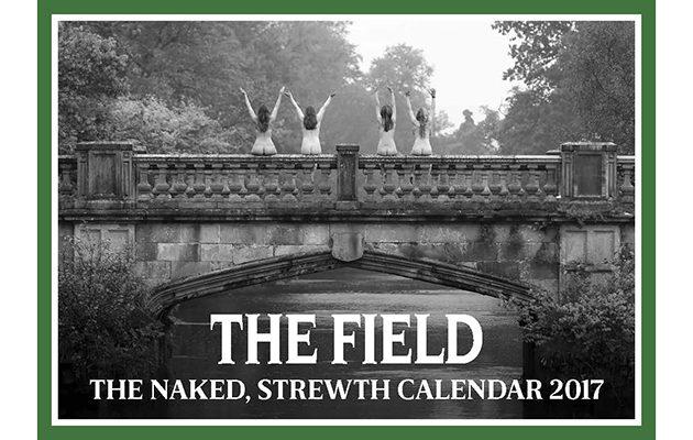Naked Strewth Charity Calendar