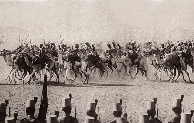 Imperial Camel Corps. Egyptians