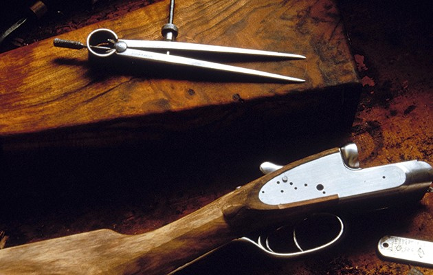 Restoring your old shotgun.