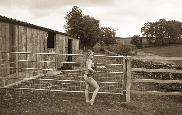 The Lady Farmers naked charity calendar