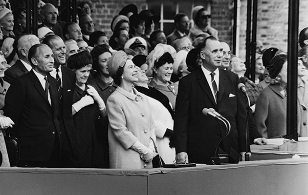 Things named after Queen Elizabeth II. 1967