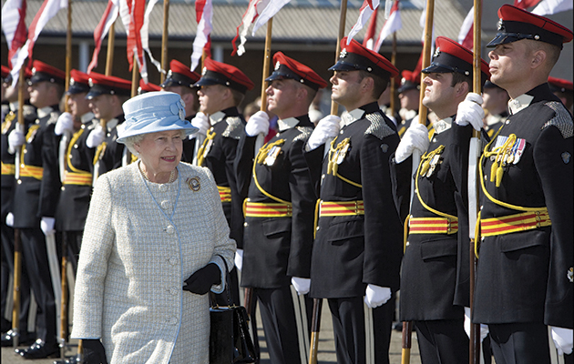 Things named after Queen Elizabeth II. Catterick