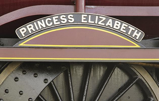 Things named after Queen Elizabeth II. Train