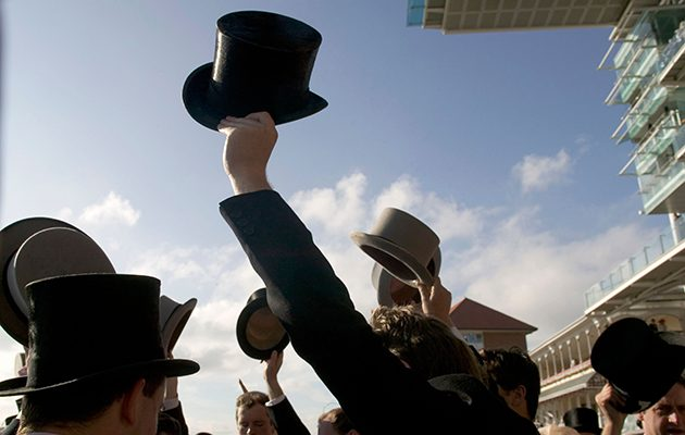 "Gentlemen ""are kindly reminded"" to wear a black or grey top hat in Ascot's Royal Enclosure."