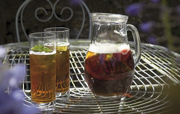 Make homemade Pimm's