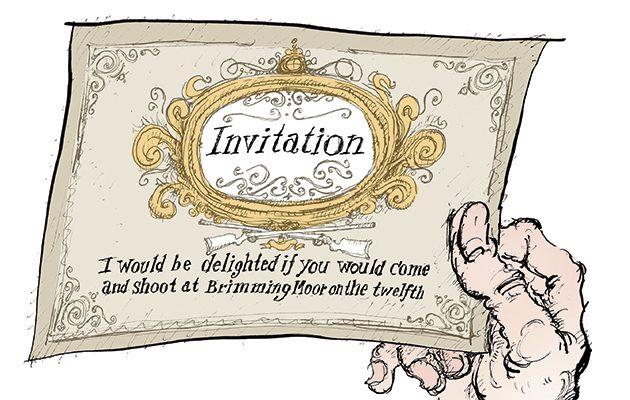 Shooting invitations