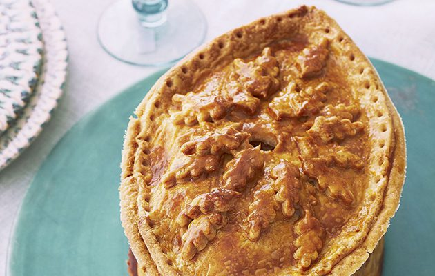 The Great British Bake Off raised game pie