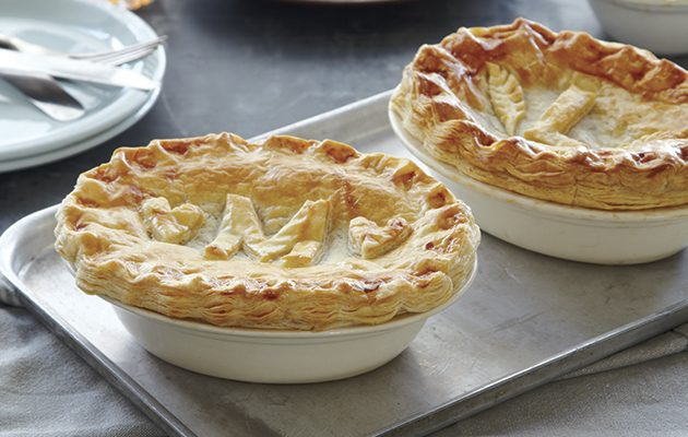 Mary Berry's steak and ale pie