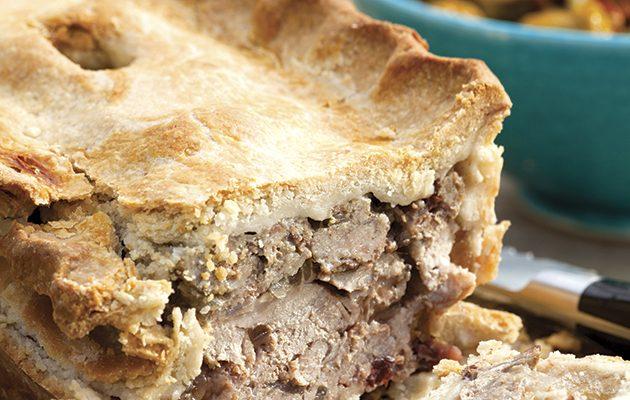 Sarah Raven's raised game pie