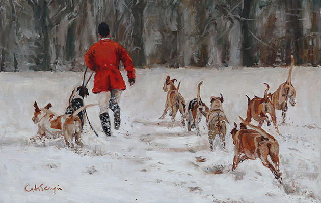 The best country christmas cards for sporting festive for Wildlife christmas cards 2016