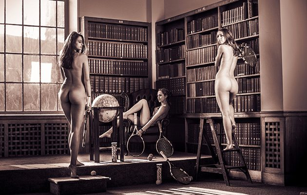 Cambridge Blues naked charity calendar 2017