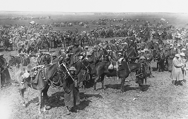 The Cavalry at Cambrai - The Field