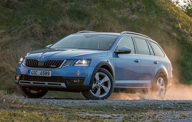 skoda octavia scout the field. Black Bedroom Furniture Sets. Home Design Ideas