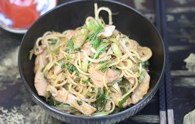 Pheasant chow mein - The Field