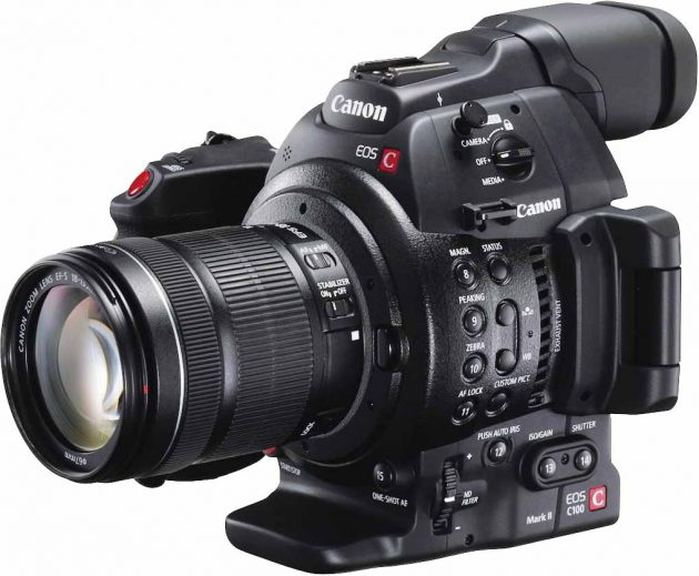 Canon's EOS C100 Mark II digital cinema camera is the top prize in the Amateur Filmmaker of the year competition