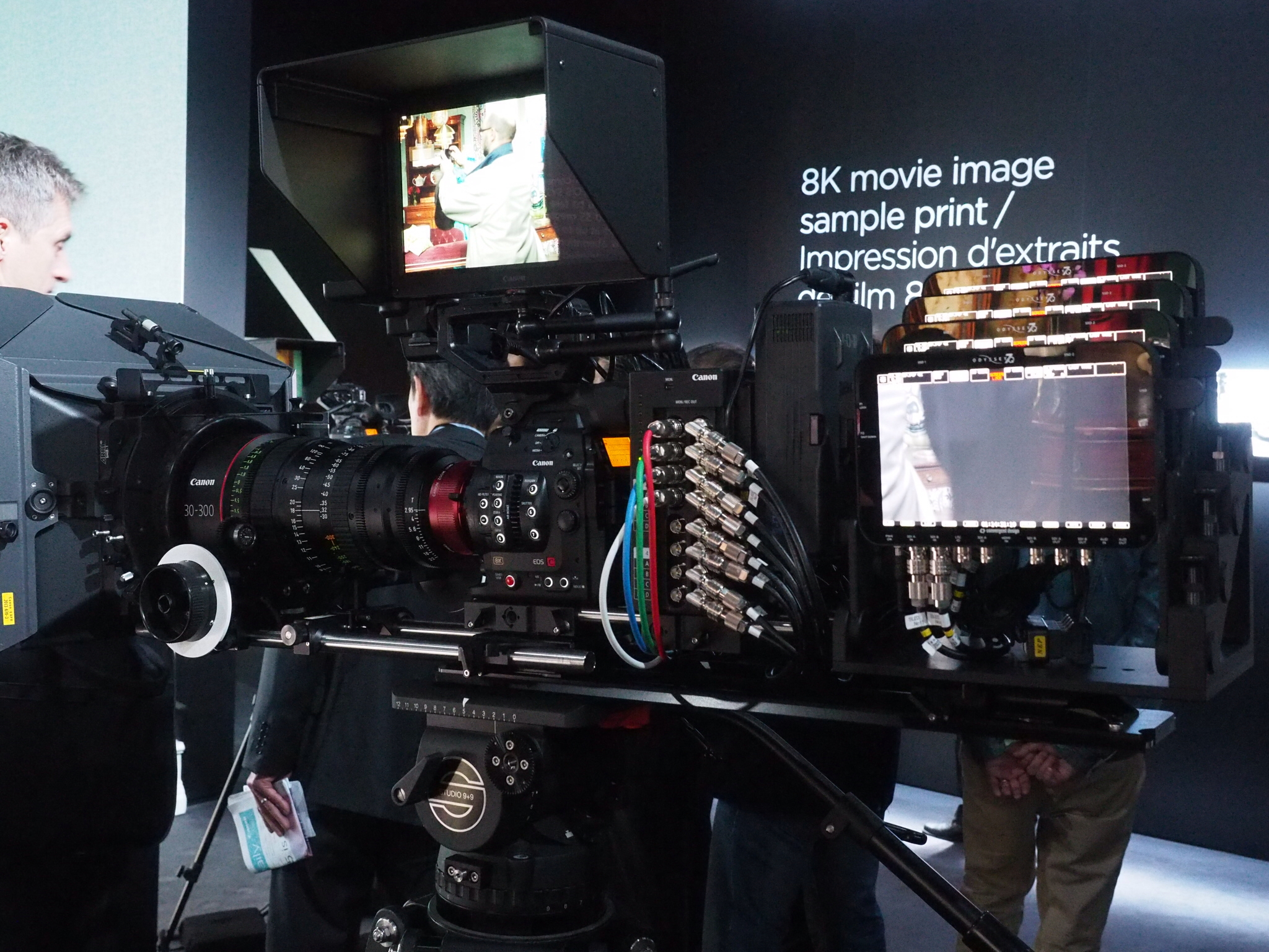 UPDATED Info Pics Canon 8K Cinema EOS Camera