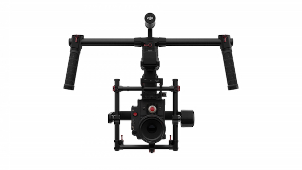 The new Ronin-MX 3-axis gimbal is the first DJI unit to feature a built-in GPS system