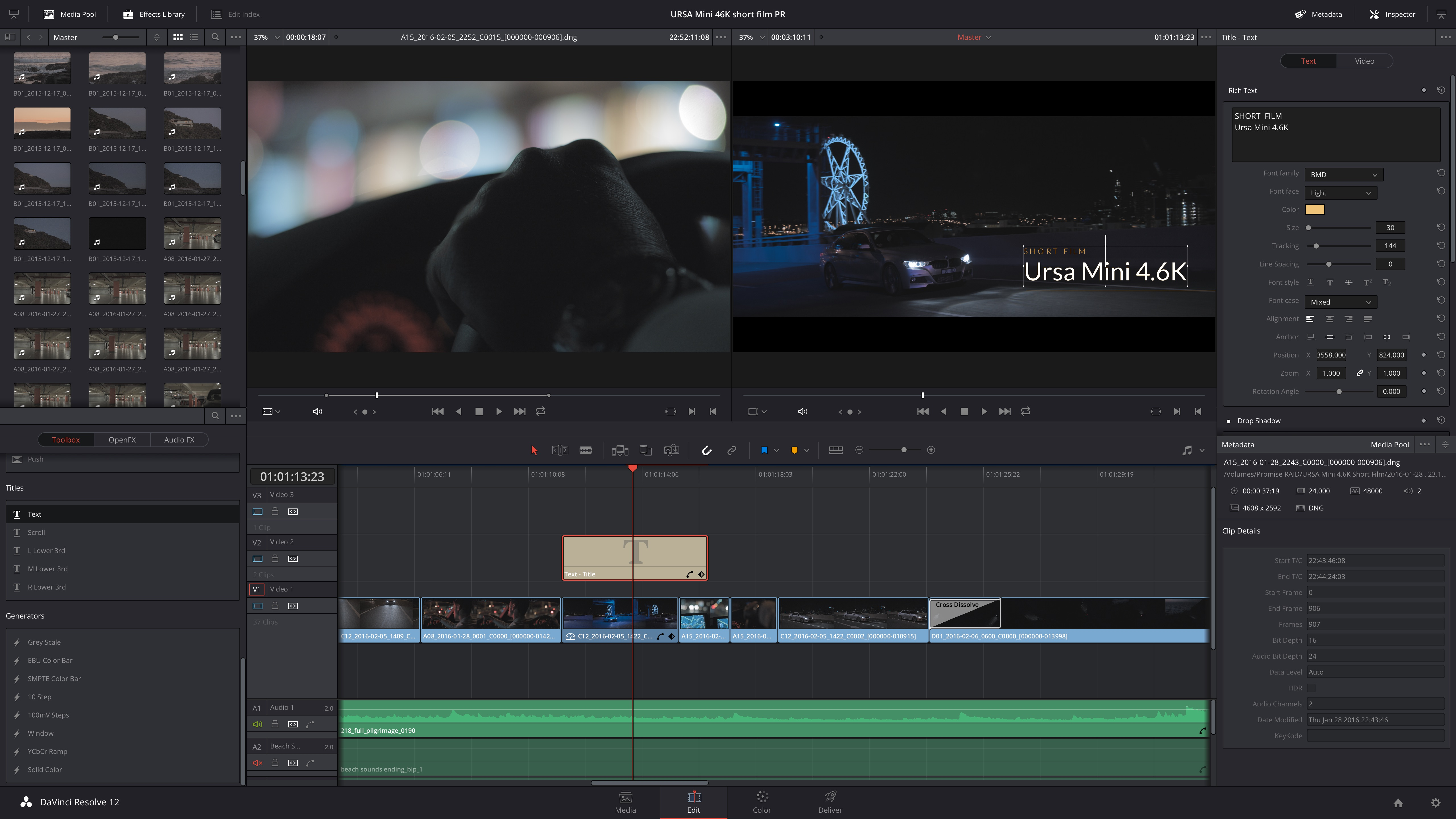 Beginner S Guide To Blackmagic Davinci Resolve 12 5 The Video Mode