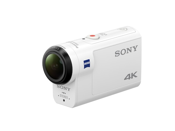 The new Sony FDR-X3000R shoots 4K (3840x2160) footage and incorporates key image stabilisation technology