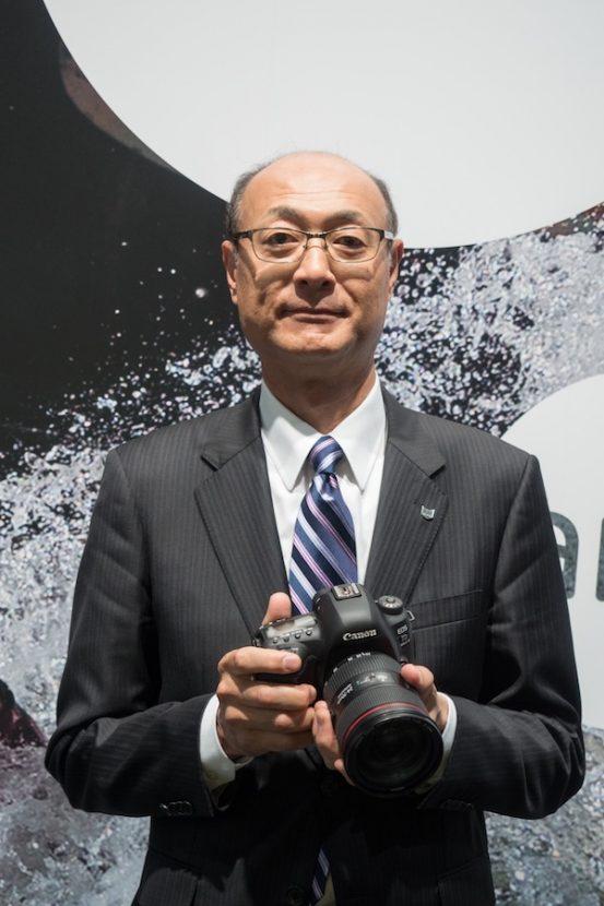 Canon Inc.'s Go Tokura (pictured above)