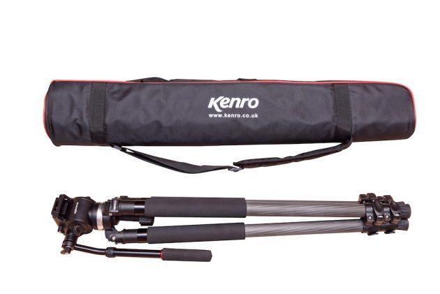 The new Kenro KENVT102C standard video tripod kit