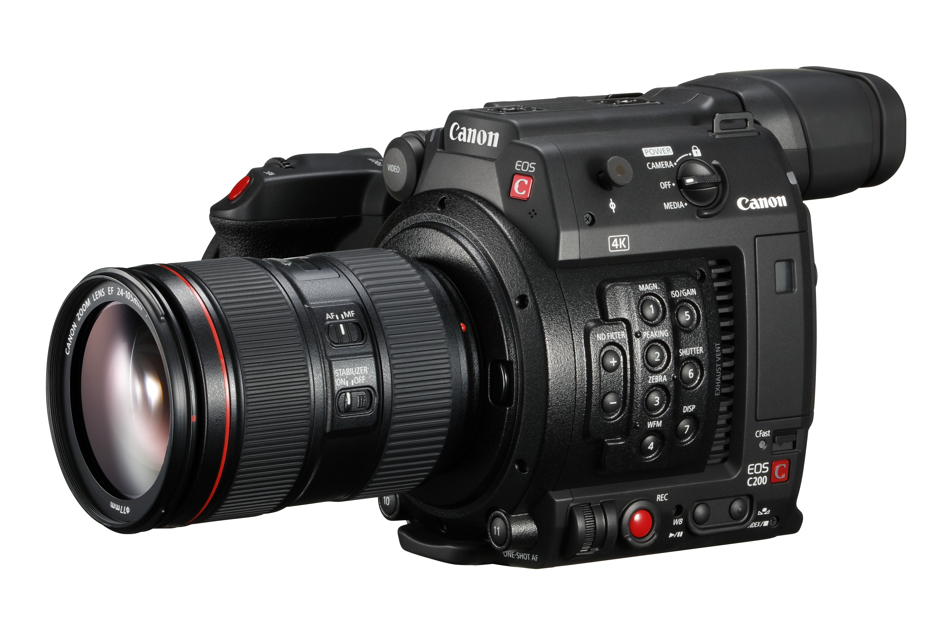 Watch: See the new Canon EOS C200 in action - The Video Mode