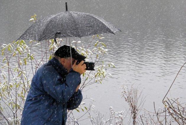 camera rain protection