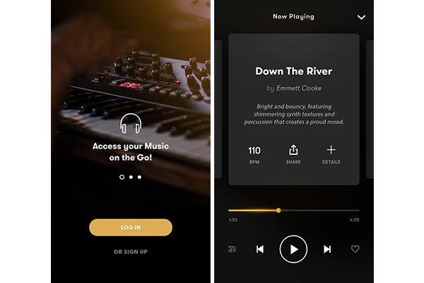 Royalty-free music company PremiumBeat announces new app for