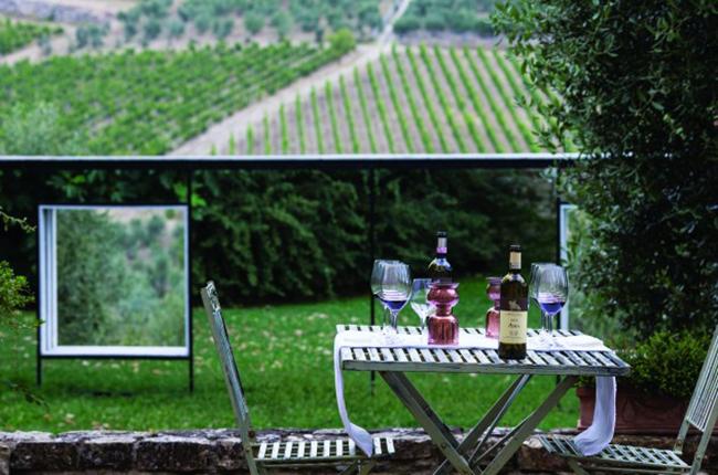 Tuscany, Blue Monday