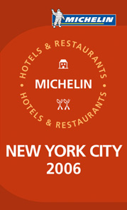 Michelin New York cover