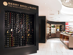 BBR shop in Terminal 3