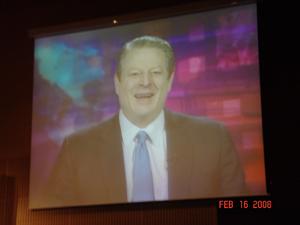 Al Gore in Barcelona