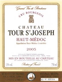 Chateau la tour st-joseph