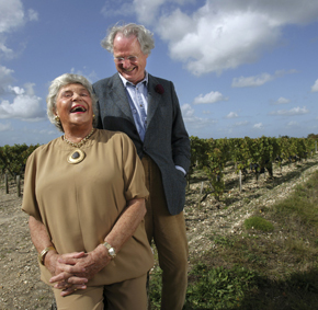 Philippine de Rothschild and Eric de Rothschild